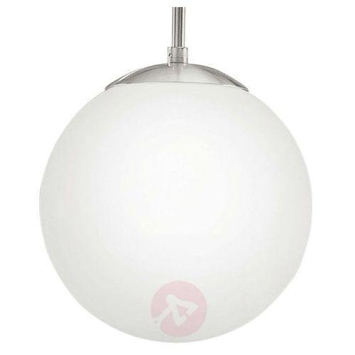 EGLO 85263 - Lampa wisząca RONDO 1xE27/60W biały (9002759852634)
