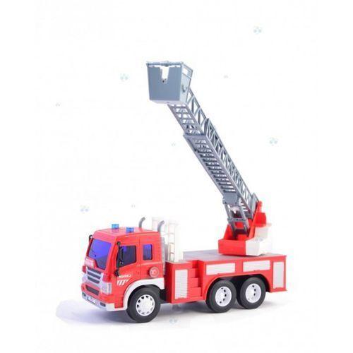 Straż pożarna z wysięgnikiem światło dźwięk od producenta Madej