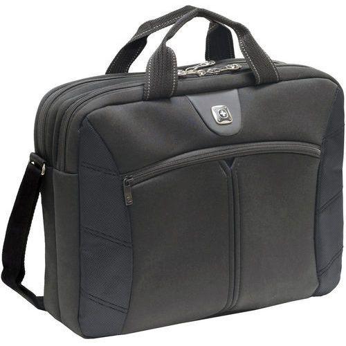 "Torba na laptopa Wenger Sherpa Double Slimcase 600653, 40,6 cm (16"") , (DxSxW) 6.4 x 43.2 x 31.8 cm, czarny (7613329008119)"