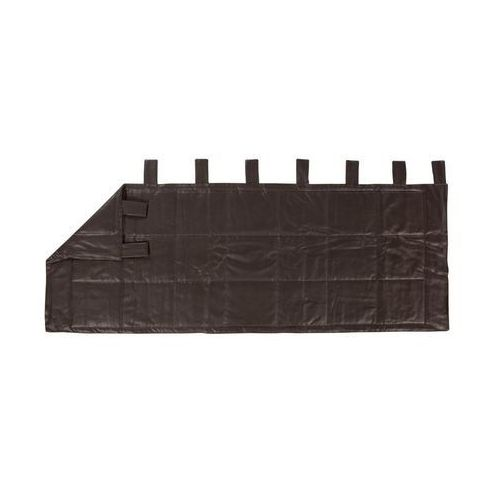 Zagłówek WESTON brązowy 160 x 70 cm