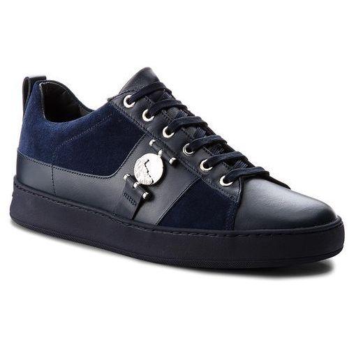 Versace Sneakersy collection - v900712 vm00387 v993n blu scuro/blu scuro//bl