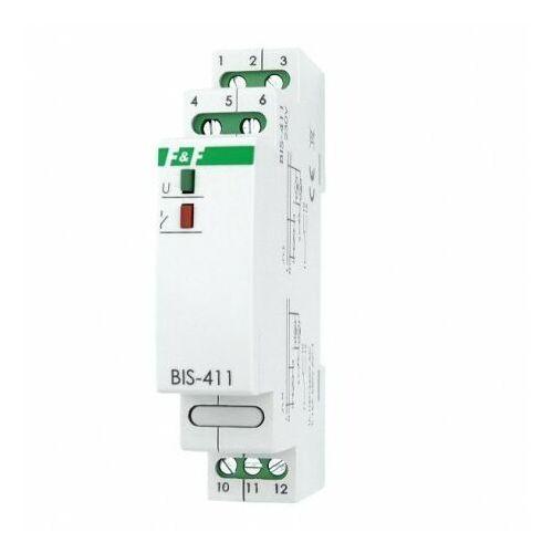 BIS-411 230V 16A Przekaźnik bistabilny impulsowy włącz-wyłącz na szynę F&F 4017, BIS411