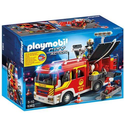Playmobil CITY ACTION Samochód strażacki ze światłem i dźwiękiem 5363 rabat 5%