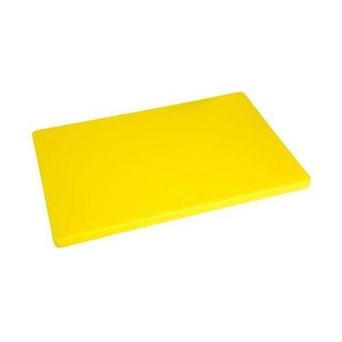 Deska do krojenia | duża | duża grubość | niska gęstość | żółta