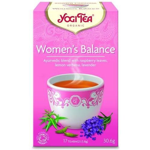 Yogi tea Herbata dla kobiet - równowaga bio 17 torebek (4012824401631)
