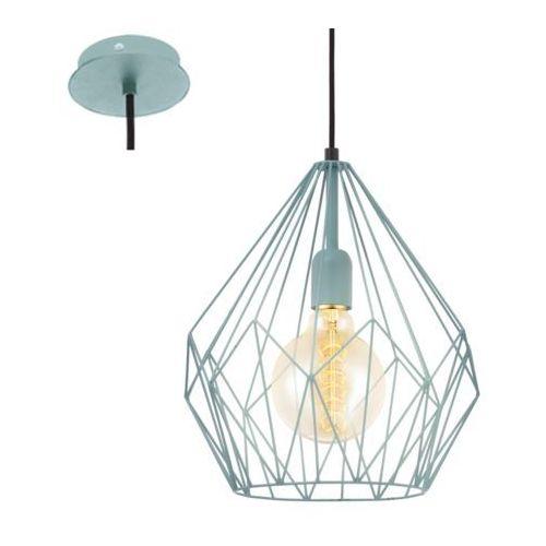 49259 - lampa wisząca vintage 1xe27/60w/230v marki Eglo