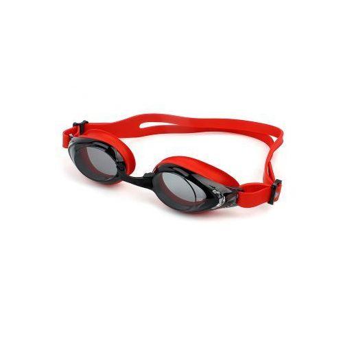 Okulary pływackie silikonowe Antares czerwone, DBC5-83522