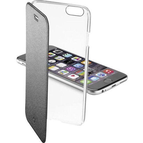 Cellular Line Etui Clear Book do Apple iPhone 6, Czarne (CCLEARBOOKIPH647K) Darmowy odbiór w 19 miastach! z kategorii Futerały i pokrowce do telefonów
