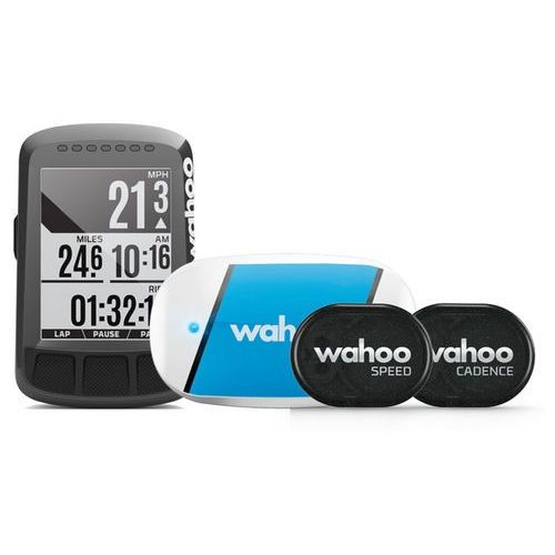 Wahoo Fitness Elemnt Bolt GPS Licznik rowerowy z czujnikiem biały/czarny 2018 Liczniki bezprzewodowe (0853988006324)