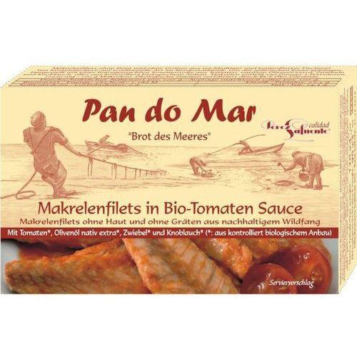 filety z makreli w BIO sosie pomidorowym 1szt, 8412439285248