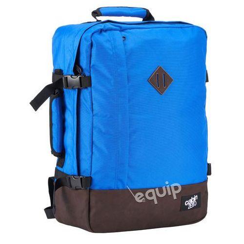 Plecak torba podręczna vintage + pokrowiec organizer gratis - royal blue marki Cabinzero