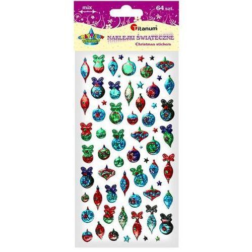 Naklejki 3D: Boże Narodzenie, mix rozmiarów i kolorów DIYXM003 (M003) (5907437666128)