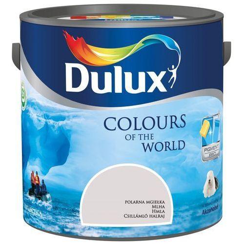 Farba wewnętrzna kolory świata 2,5 l polarna mgiełka marki Dulux