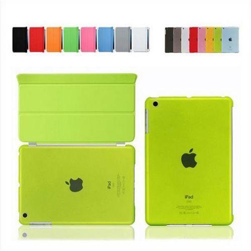 SMART COVER + BACK iPad AIR 2 zielony - zielony, kolor SMART