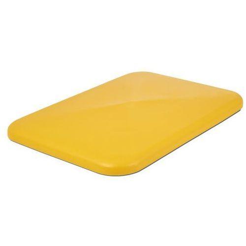 Pokrywa, do pojemników 340 l, żółty. marki Vectura behältermanagement