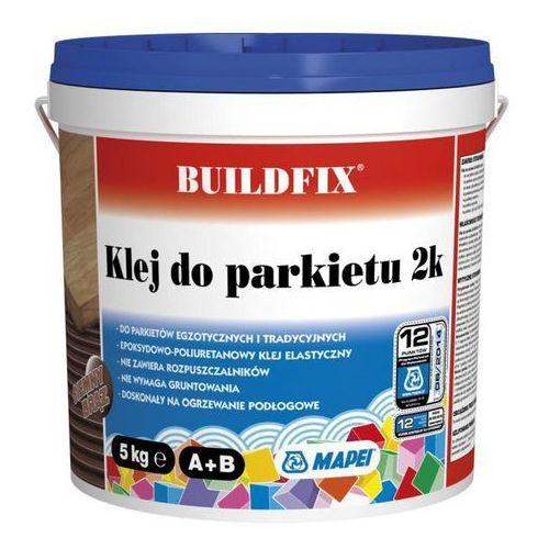 Buildfix Klej dwuskładnikowy do parkietu 2k ciemny brązowy 5 kg