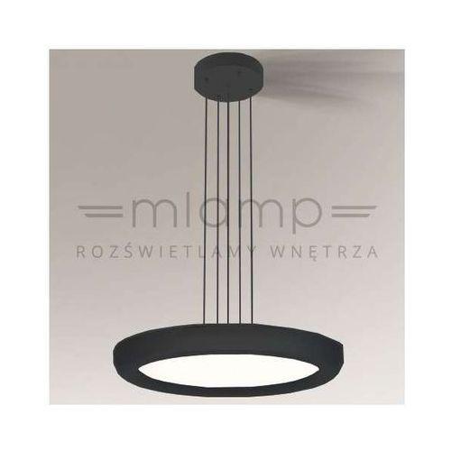 LAMPA wisząca GIFU 5582/LED/CZ Shilo minimalistyczna OPRAWA zwis LED 24,8W okrągły czarny (1000000346718)