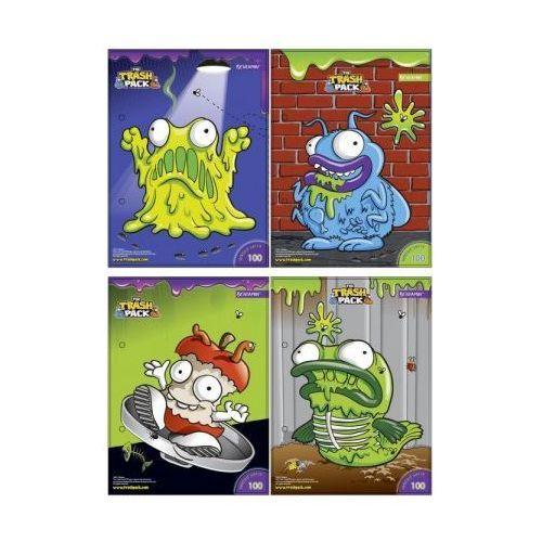 Beniamin Wkłady do segregatora a6 8 kartek z kolorowankami i naklejkami