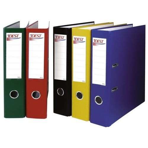 Segregator ekonomiczny a4 50 mm, czerwony - porady, wyceny i zamówienia - sklep@solokolos.pl - tel.(34)366-72-72 - autoryzowana dystrybucja - szybka dostawa marki Idest
