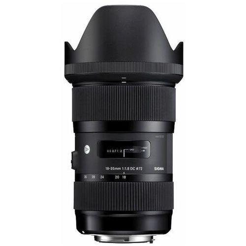 Sigma AF 18-35mm f/1.8 A DC HSM Nikon - produkt w magazynie - szybka wysyłka!