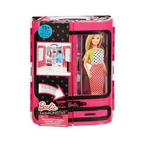 Barbie Modna Szafa Walizka Fashionistas DMT57, DMT57