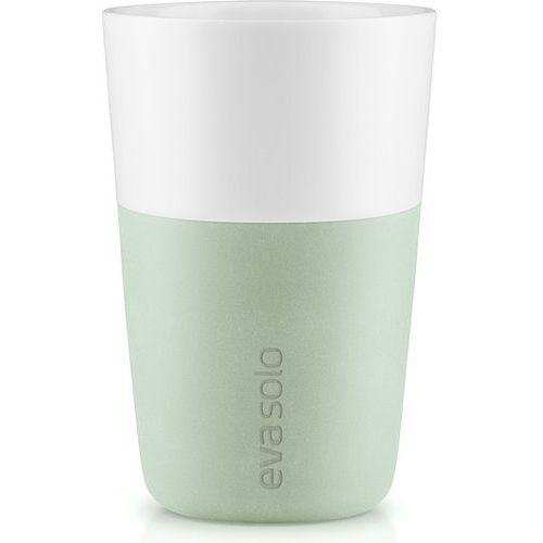 Eva solo Filiżanka do cafe latte 2 szt. eukaliptusowa zieleń (5706631187244)