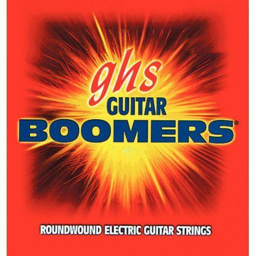 guitar boomers struny do gitary elektrycznej, 12-str. extra light,.009-.040 marki Ghs