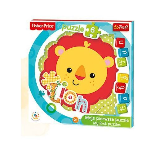 Trefl Baby fun. lwiątko. puzzle, 6 elementów