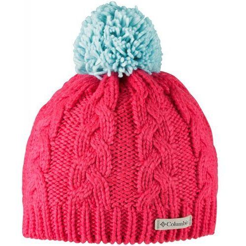 COLUMBIA czapka In-Bounds Beanie Red Camellia Spray OS