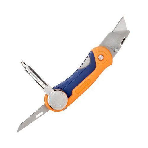 Nóż wielofunkcyjny z wkrętakiem 4 IN 1 DEXTER