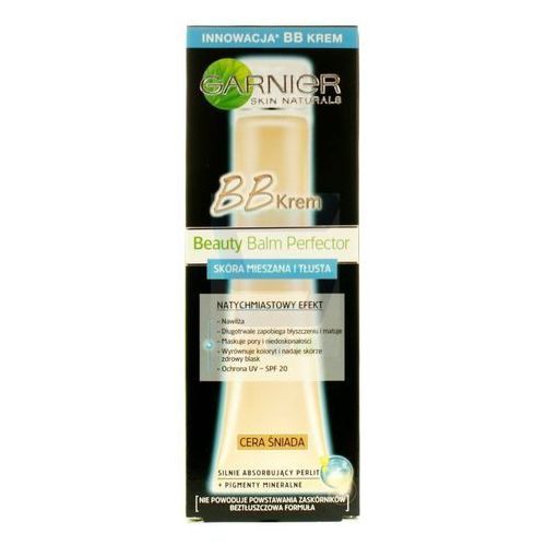 GARNIER - BB Cream - Combination To Oily Skin - MIRACLE SKIN PERFECTOR 5-IN-1 - Krem BB do skóry tłustej i mieszanej - MEDIUM, 3600541202061