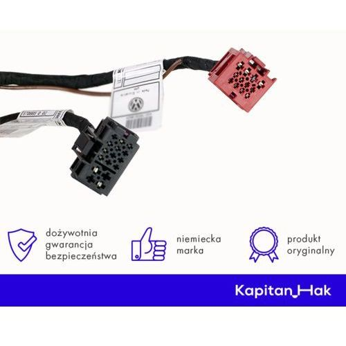 Wiązka elektryczna dedykowana - 13 pin - suzuki grand vitara (3 drzwi) marki Westfalia