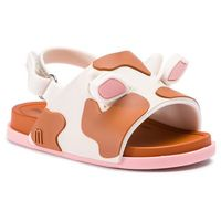 Sandały MELISSA - Mini Melissa Beach Slide Sanda 32405 Beige/Brown/Pink 53340