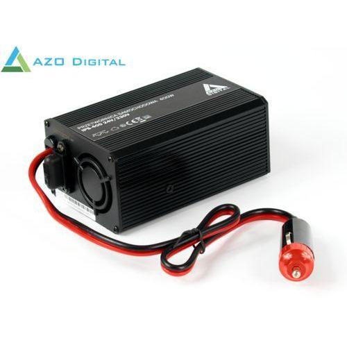 Samochodowa przetwornica napięcia 24 vdc / 230 vac ips-400 400w marki Azo digital