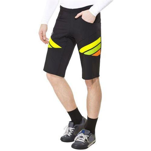 Bioracer enduro spodnie rowerowe mężczyźni czarny xl 2018 spodenki rowerowe