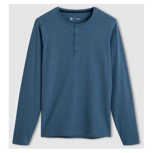 La redoute collections Bawełniany t-shirt z rozcinanym dekoltem