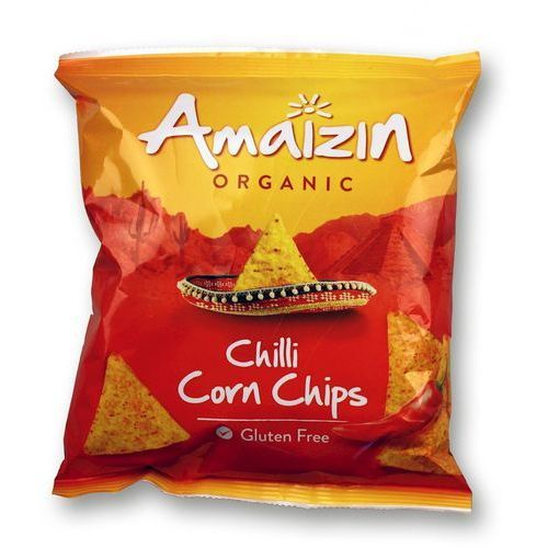 Amaizin Chipsy kukurydziane chilli bio 75g - (8712153400027)