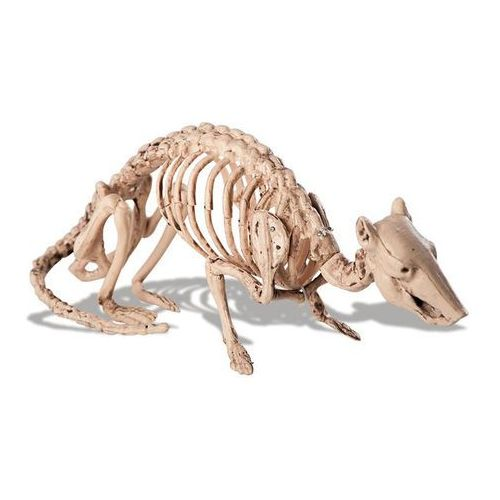 Carnival Dekoracja szkielet myszy - 32 cm - 1 szt.