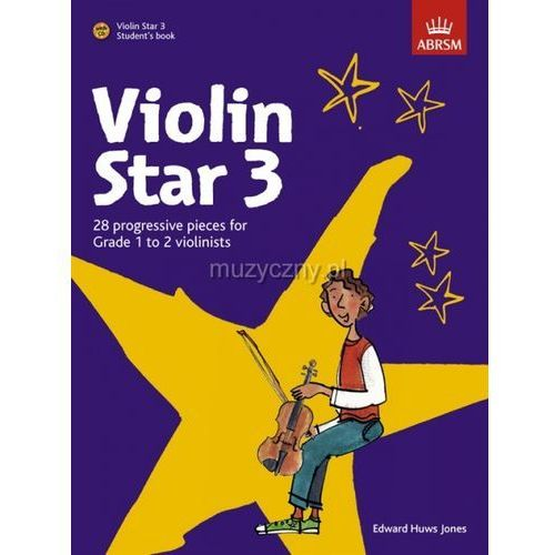 PWM Huws Jones Edward - Violin Star vol. 3 (utwory na skrzypce + CD)