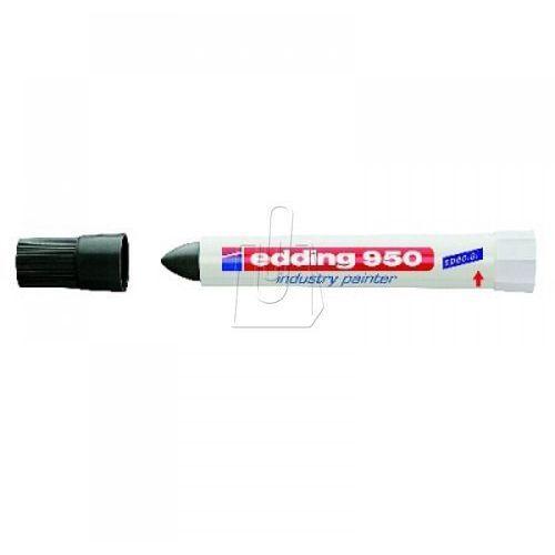 Marker przemysłowy Edding 950 w paście 10 mm czarny, BP795966