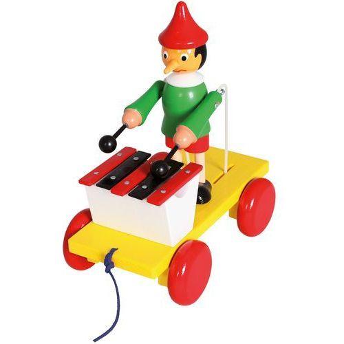 BINO Zabawka na sznurku Pinokio (4019359800373)