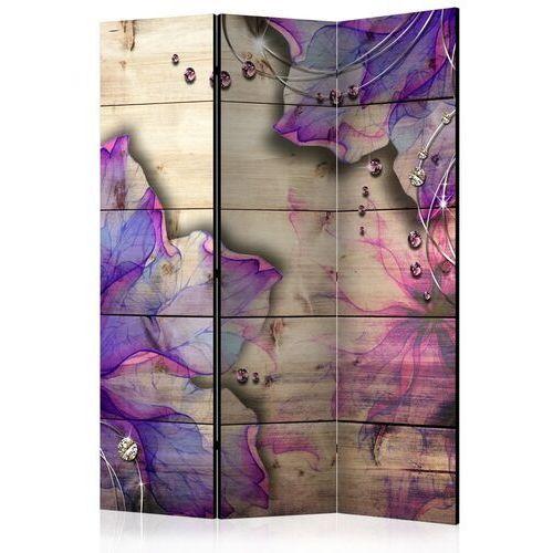 Artgeist Parawan 3-częściowy - purpurowe wspomnienie [room dividers]