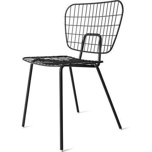 Menu Krzesło wm string dining chair czarne
