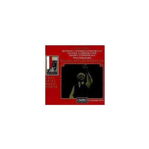 Beethoven L / Pfitzner H - Leonoren_ouv. / Symf. C - Dur / Symf. 4