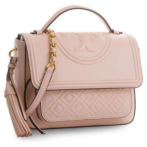 7ca66c3aec5ff Tory burch Torebka - fleming satchel 45147 shell pink 652