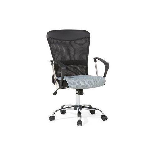 Krzesło biurowe szaro-czarne - meble biurowe - fotel komputerowy - boss marki Beliani