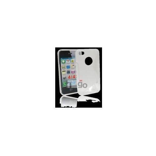 Futerał Back Case S-Line Apple IPHONE 4, 4S PRZEŹROCZYSTY, slinei-4prz