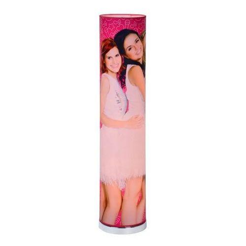 Lucide k3 34735/19/60 lampa podłogowa 1x8w led różowa