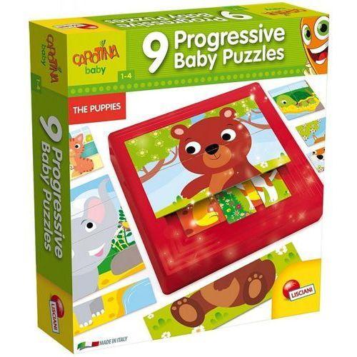 Carotina baby 9 Progressive baby puzzles - Lisciani (8008324058433)
