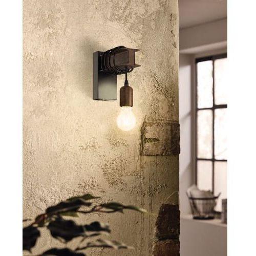 Eglo 43152 townshend 4 oprawa ścienna; stal, czarny, brązowy vintage